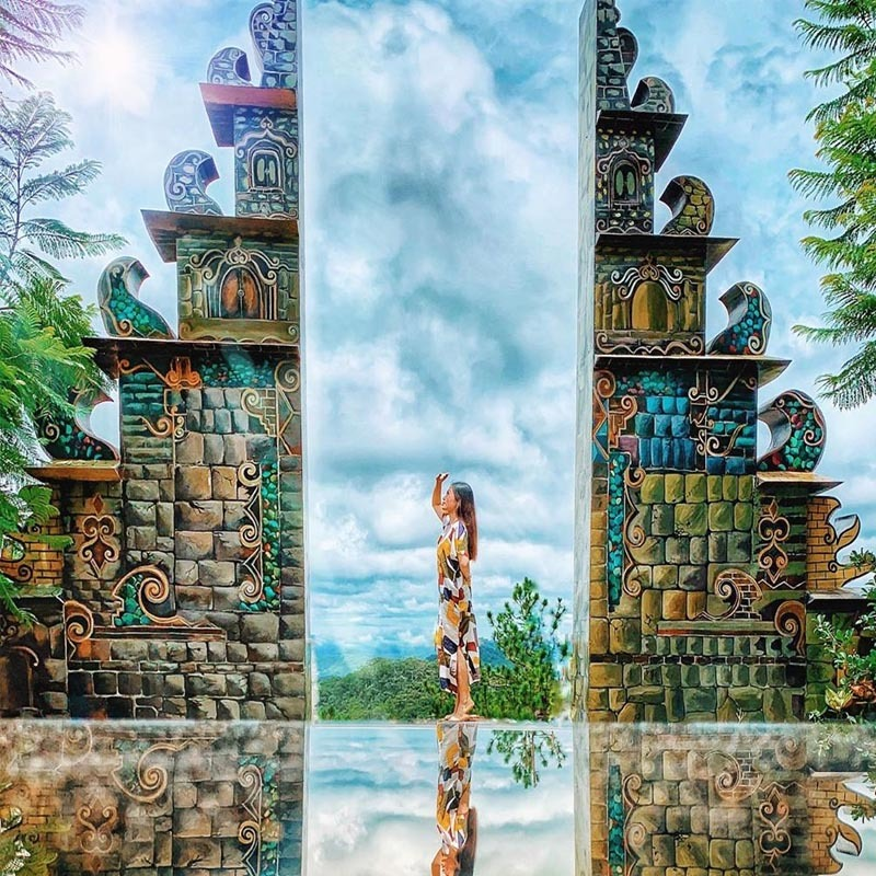 Cổng Trời Bali Đà Lạt - Thiên đường check-in sống ảo FREE cực HOT