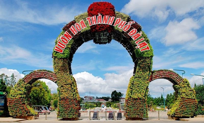 Vườn hoa thành phố Đà Lạt - Điểm check-in sống ảo đẹp ngây ngất, giá vé, hướng dẫn di chuyển ở đâu giờ mở cửa